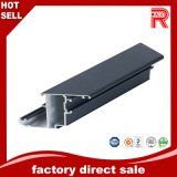 Perfil anodizado negro de aluminio de la protuberancia/de aluminio para la ventana