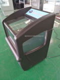 Refrigerador aberto do indicador do supermercado comercial