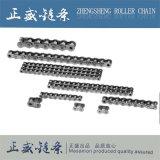 Catena di convogliatore industriale di breve precisione d'acciaio Triplex standard del passo