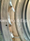 밖으로 관 기관자전차를 위한 단단한 금속 타이어 형