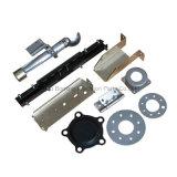 Metall, das Teile für kundenspezifischen Bestandteil stempelt
