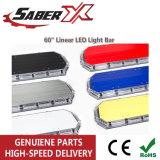 Популярные Micro 60-дюймовый светодиодный индикатор линейного перемещения бар для сотрудников полиции/трафика/автомобильный