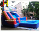 工場価格子供の娯楽のためのプールが付いている膨脹可能な水スライド