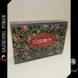 Cartões de jogo requintados orientais com caixa plástica
