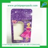 Rectángulo de empaquetado impreso aduana del perfume de papel con la ventana clara