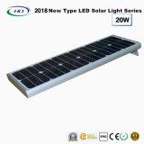 Tout-en-un jardin lumière LED solaire 20W