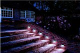 Lumière solaire de silicium de DEL de lumière solaire monocristalline d'escaliers