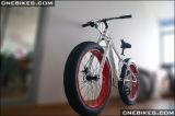 bicicleta eléctrica del neumático gordo 26X4 con el motor del eje de 48V 1000W