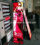 실내 Supler 호리호리한 승진 pH3mm 포스터 발광 다이오드 표시 스크린