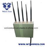 6 GPS WiFi van de Telefoon van de Cel van de antenne Stoorzender met Afstandsbediening