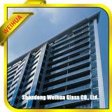 De cristal aislada laminada decorativo cubierta alta calidad/endureció el vidrio aislado con el vidrio del edificio
