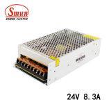Bloc d'alimentation de commutation de Smun S-200-24 200W 24VDC 8.3A IP20 DEL