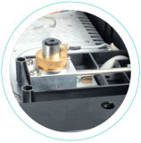 Detector de TCD Analizador de cromatografía de gases con la función de control de temperatura independiente
