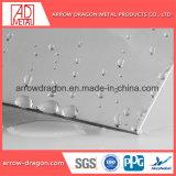 Panneau en acier inoxydable sphérique pour la décoration de l'architecture