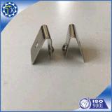Personalizar estampación metálica de aluminio Galvanizado Clip de forma de V