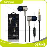 Fone de ouvido excelente baixo de Smartphone dos sons da potência