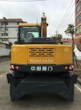 6.0Ton 0,25 Cbm Excavadora de ruedas de la capacidad de venta