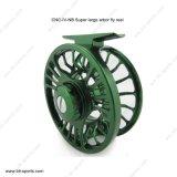 De klassieke CNC Machinaal gesneden Spoel 02A-CNC-iv-Nb van de Vlieg van de Forel van de As van het Aluminium Grote Zoetwater