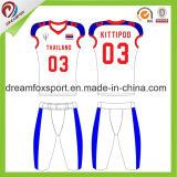 Cool Dernière élégant maillot de football américain personnalisé Amérique uniformes de football