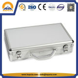 Aluminiumlaptop-Aktenkoffer mit zwei Verschlüssen (HL-2220)