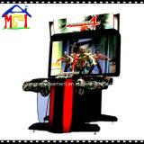 """Casa de la máquina de juego de arcada del simulador del Shooting 55 """" de los muertos 4tos"""