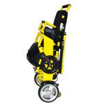 Fauteuil roulant pliable léger d'énergie électrique pour des handicapés