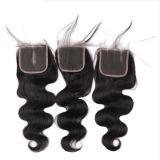 싼 브라질 사람의 모발 연장 머리 길쌈 머리는 모발 제품을 잇는다