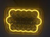 L'angolo giallo di colore del foro Eyes il LED che segue l'indicatore luminoso di azionamento del faro LED