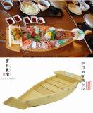 Плоские суши на лодке можно напечатать логотип