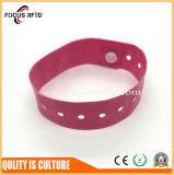 Wristband подарка RFID промотирования устранимый при напечатанный логос