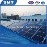 Солнечная панель кронштейны для установки на крышу для тона крыши металлической крышей