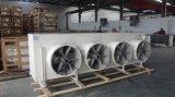 Evaporatore di refrigerazione dei dispositivi di raffreddamento di aria per cella frigorifera compreso il ventilatore assiale (presa laterale montata soffitto)