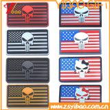 Eua Bandeira Personalizados Patch de PVC. Crachá de PVC (YB-ST-003)