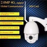 960p 4G com câmera de segurança IP WiFi 60W Painel Solar