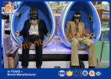 2017 nueva sensación real de alta calidad 9D simulador de Realidad Virtual 9D Cine Vr 9D simulador de vuelo de reconocimiento de voz