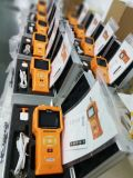 Analizador portable certificado Ce del CH4 4-Gas del O2 H2s del Co del detector del Multi-Gas