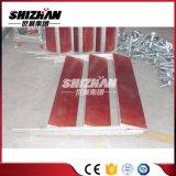 Etapa portable de aluminio, superficie impermeable, antideslizante, etapa móvil ajustable de la altura
