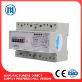 Три фазы 3 провод/4 провод направляющей DIN счетчик электроэнергии