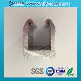 Profil en aluminium de l'aluminium 6063 pour le guichet personnalisé d'entrée principale de système