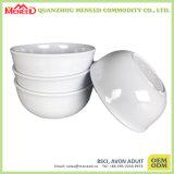 Белый шар супа меламина пользы гостиницы сплошного цвета