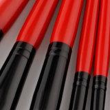 Le renivellement de luxe de taille de course balaye la brosse de lecture professionnelle de produits de beauté de Black&Red