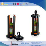 Diseño de moda de cuero portátil vino portador (5749R1)