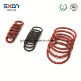Anillo o rojo/negro del caucho de silicón para el equipamiento médico