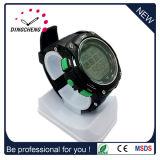 Nuevo estilo multi Smartwatch del deporte del caso plástico de la función con la venda de TPU