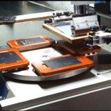 Impresora plana de la pantalla de la cartulina/de la placa de identificación con rotatorio