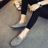 Ботинок великобританского Moccasin кожи ботинок Loafer конструктора людей вскользь управляя для людей