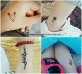 Impresión impresa a todo color de encargo de la etiqueta engomada del tatuaje