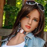 Heiße verkaufen163cm Geschlechts-Spielzeug-grosse Brust-lebensechte Geschlechts-Puppen