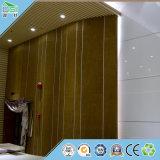 Écran antibruit de fibre de verre ignifuge de plafond