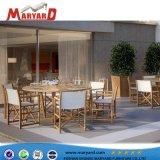 중동과 두바이에 있는 옥외 Teak Wood Dining Table Set Hotsale